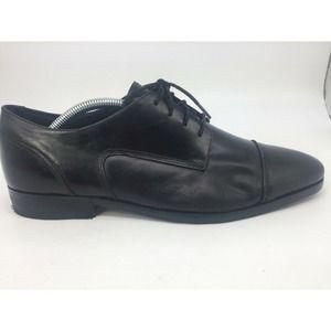 Florshiem Cap Toe Men's black Oxfords Shoes